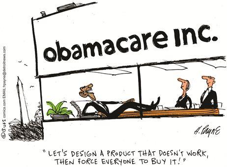 Obamacare Cartoon Oct 2013 3