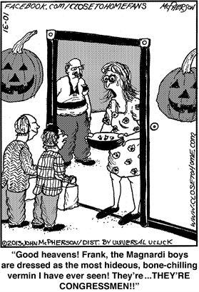 Obamacare Halloween Congressmen