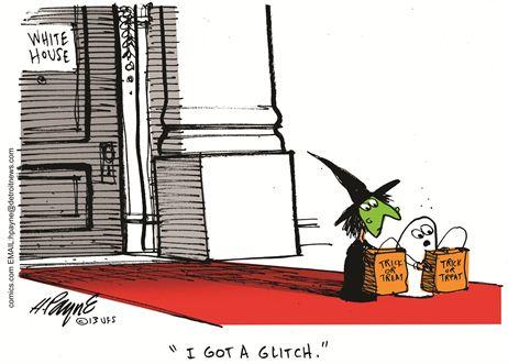 Obamacare Halloween Glitch