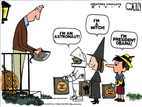 Image result for Cartoons Halloween Donald Trump