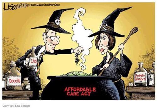 Obamacare Halloween Reid Pelosi