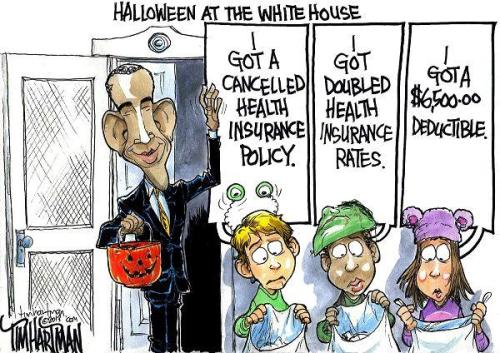 Obamacare Halloween White House