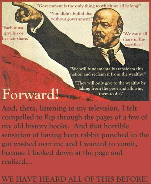 Obama Lenin