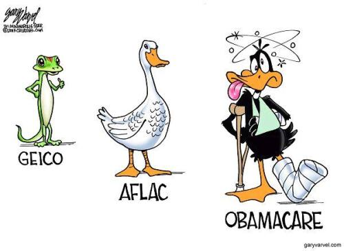 Obamacare Daffy Duck