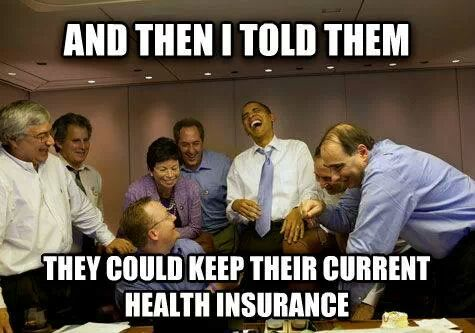 Obamacare laugh
