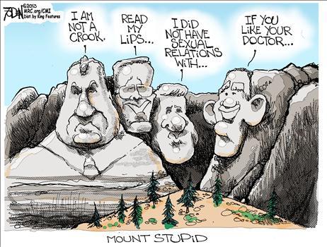 Obamacare Mt Rushmore