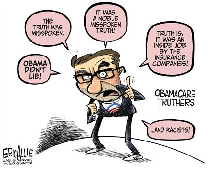 Obamacare Truthers Cartoon