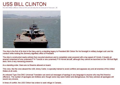 ss-clinton The Naval Versions of Reagan, Clinton, and Obama