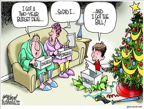 Budget Deal Cartoon 1