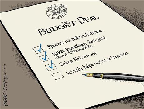 Budget Deal Cartoon 2