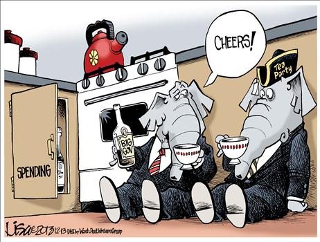 Budget Deal Cartoon 5