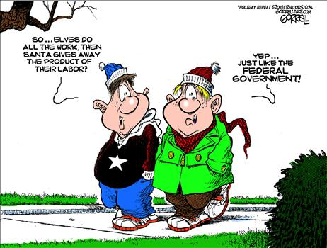 gorrell-xmas-cartoon Merry Christmas Messages
