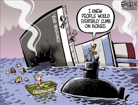 Obamacare Cartoon Jan 2014 1