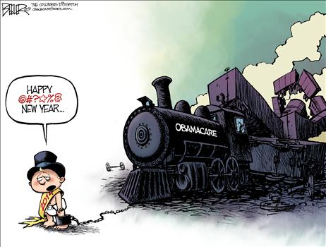 Obamacare Cartoon Jan 2014 2