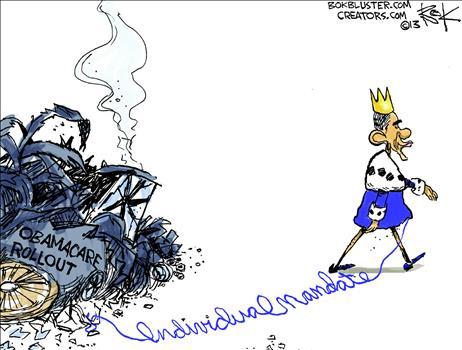 Obamacare Cartoon Jan 2014 3