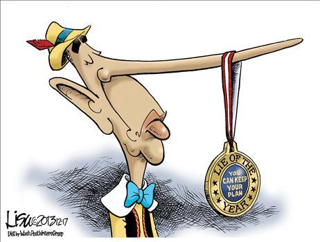 Obamacare cartoon Jan 2014 5