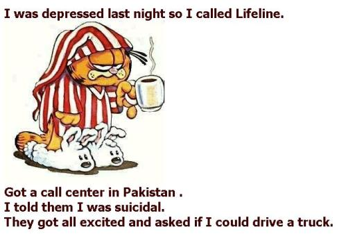 Garfield Terrorist