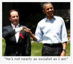Hollande v Obama