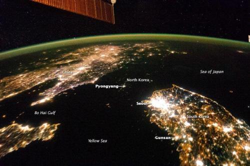 North Korea v South Korea