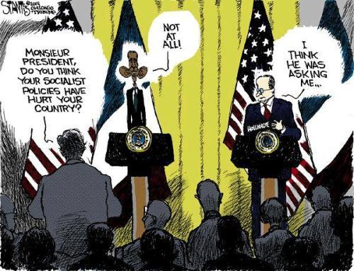 Socialist Obama Cartoon