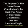 Constitution Limits Government Power