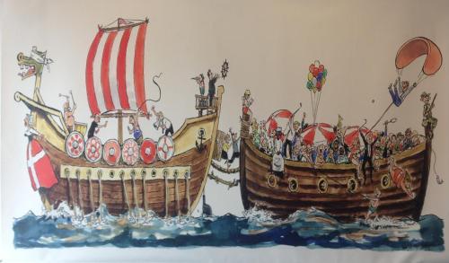Denmark Party Boat