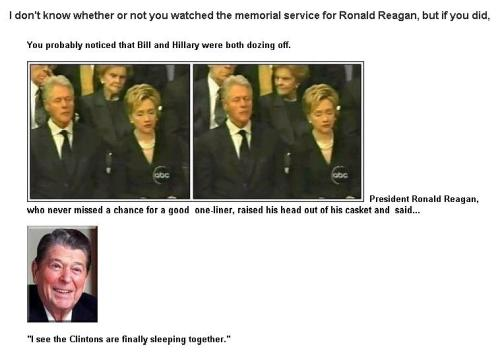 Reagan Clinton Joke