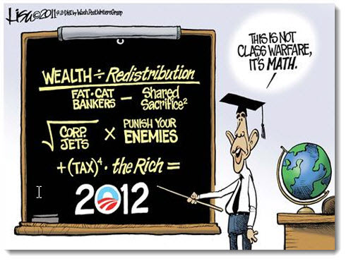 obama-economy-jobs-debt-deficit-political-cartoon-class-warfare-math